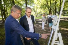 Aldara parka pārbūves metu konkursa noslēgums (23.05.2016.)