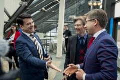 Rīgas dome paraksta sadarbības līgumu IKEA lielveikala darbības atbalstam