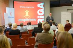 Seminārs par pieteikšanos grantu programmai ATSPĒRIENS 16.09.2014.