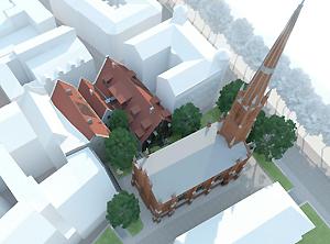 Iedzīvotāji aicināti izteikt viedokli par rekonstrukcijas projektu ēkām Rīgā, Miesnieku ielā Nr.13, 15, 17