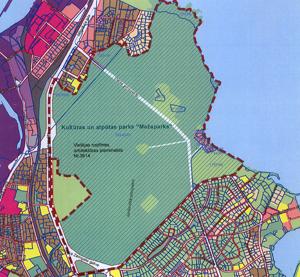 """Par kultūras un atpūtas parka """"Mežaparks"""" lokālplānojuma izstrādi, lokālplānojuma teritorijas robežas un darba uzdevuma apstiprināšanu"""