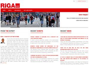 Darbu uzsākusi atjaunota, uzņēmējiem paredzēta mājas lapa www.investinriga.com