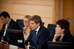 Vēstniekus interesē Rīgas attīstības ieceres