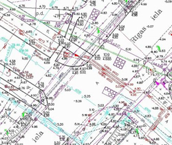 Tiek elektronizēta topogrāfisko plānu saskaņošana