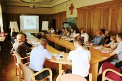 Projekta atbalsta grupas pamatsastāva sanāksme