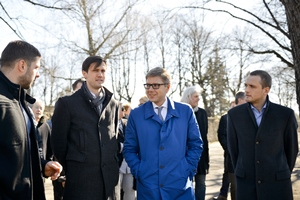 N.Ušakovs: Notiks vērienīga Grīziņkalna parka un Ziedoņdārza rekonstrukcija