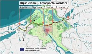 Izsludināts konkurss Ziemeļu transporta koridora 3. un 4.posma būvniecības ieceres tehniskā projekta izstrādei