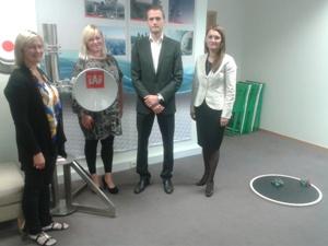 Rīgas domes Pilsētas attīstības departamenta direktora p.i. apmeklē Rīgas IT DEMO centru, lai apspriestu turpmākas sadarbības iespējas
