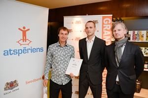 """Šī gada otrajā grantu programmas """"ATSPĒRIENS"""" konkursā pieejamais finansējums – vairāk nekā 111 000 eiro"""