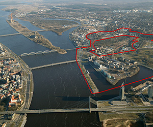 A Competition Has Been Announced for the Town-Planning Vision Sketches of the New Centre of Riga in Tornakalns