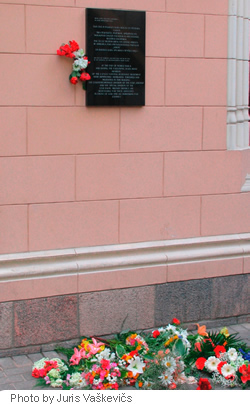 Memorial Plaque to Commemorate the Victims of the USSR Repressive Institutions