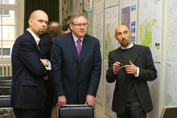 Награждают лауреатов международного конкурса молодых архитекторов Europan Латвия