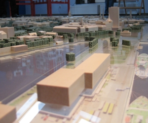 Model of the Riga Centre Territory is Available for Viewing at the Rātsnams