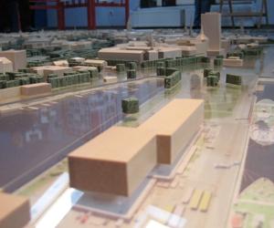 В Ратуше можно осмотреть макет территории центра Риги