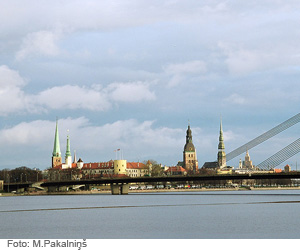 The population approves of the activity and processes of the Riga municipality