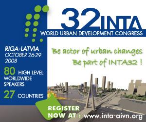 Rīgā pulcēsies pilsētu plānošanas un attīstības speciālisti no visas pasaules