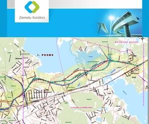 Izstrādāts Rīgas Ziemeļu transporta koridora 1.posma skiču projekts