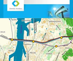 Rīt, 19.februārī plkst. 10:00 Rīgas domes Prezidiju zālē notiks Rīgas Ziemeļu transporta koridora projekta Vadības komitejas sēde.