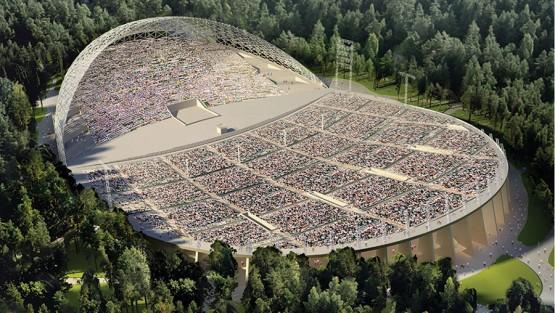 Mežaparka lielās estrādes rekonstrukcijas projekts