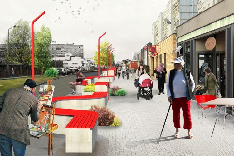 """Projekts """"Dižozolu ielas rekonstrukcija"""""""