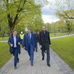 No jūnija iedzīvotājiem būs pieejams atjaunotais Grīziņkalna parks, Ziedoņdārzs un Miera dārzs