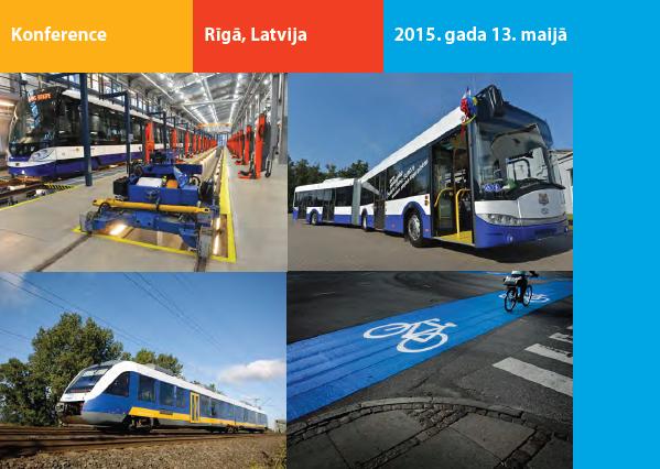 Augsta līmeņa konferencē Rīgā spriedīs par mobilitāti un pilsētvides attīstību