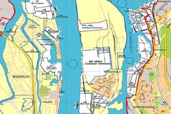 Par ietekmes uz vidi novērtējumu ierosinātajai darbībai Rīgā, Brīvostas teritorijā, Kundziņsalā (esošā minerālmēslu termināļa teritorija)