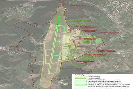 """Paziņojums par starptautiskās lidostas """"Rīga"""" infrastruktūras attīstības projektu līdz 2020.gadam ietekmes uz vidi novērtējuma precizēto ziņojumu"""