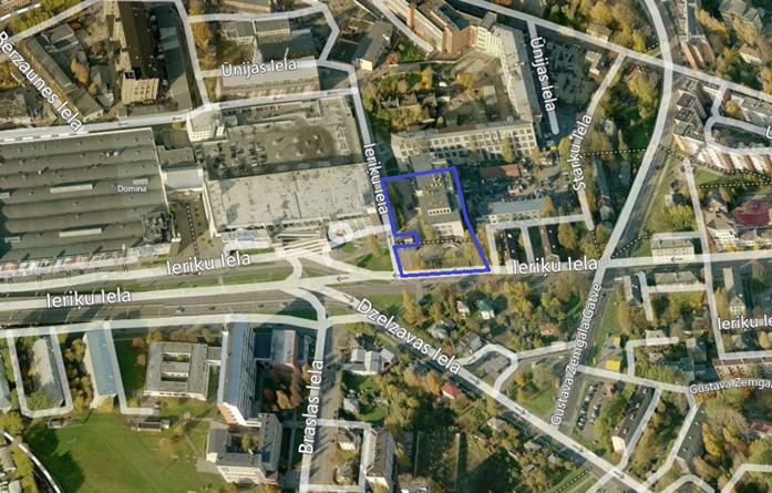 Paziņojums par lokālplānojuma redakcijas zemesgabalam Ieriķu ielā 5 k-1 (Teikas apkaimē) nodošanu publiskajai apspriešanai