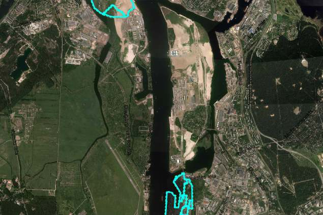 Par ietekmes uz vidi novērtējumu Rīgā Krievu salā, Zilajā ielā un Eksportostā