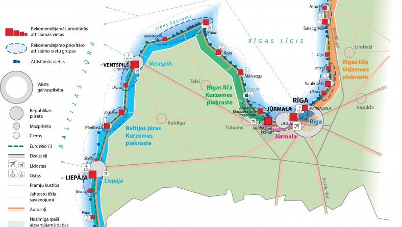 Paziņojums par Valsts ilgtermiņa tematiskā plānojuma Baltijas jūras piekrastei 1.redakcijas un Vides pārskata projekta publisko apspriešanu
