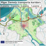 Izstrādāts Rīgas Ziemeļu transporta koridora 1.posma  tehniskais projekts / būvprojekts