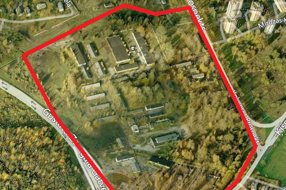 Paziņojums par lokālplānojuma grozījumu izstrādes uzsākšanu teritorijā starp Gustava Zemgala gatvi, Ķīšezera ielu, Kokneses prospektu un vēsturisko Mežaparka apkaimi