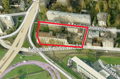 Tiek uzsākta lokālplānojuma redakcijas publiskā apspriešana kvartālam starp Maskavas ielu, Bārddziņa ielu, Mazo krasta ielu un Lāčplēša ielu