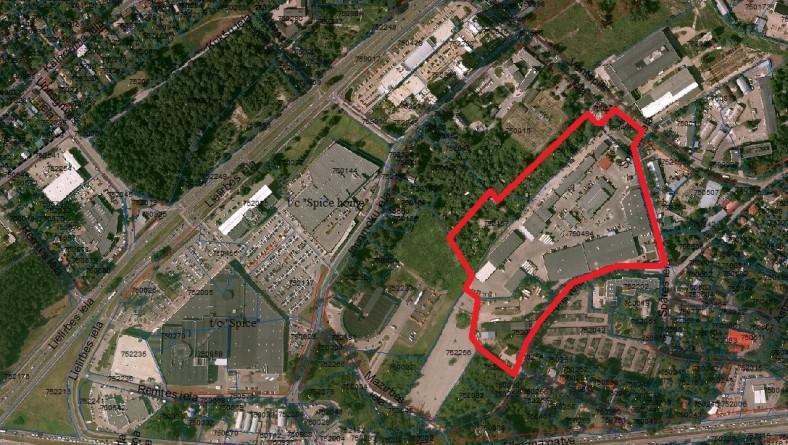 Paziņojums par lokālplānojuma izstrādes uzsākšanu zemesgabalam Ventspils ielā 50 un tam piegulošajai teritorijai