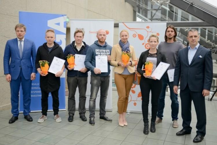 """Grantu programmā """"ATSPĒRIENS"""" seši uzņēmēji saņem 71 320 eiro"""