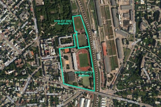 Par ietekmes uz vidi novērtējumu paredzētajai darbībai – Daugavas stadiona teritorijas pārbūvei Rīgā, Augšielā 1 un Augšielā 3