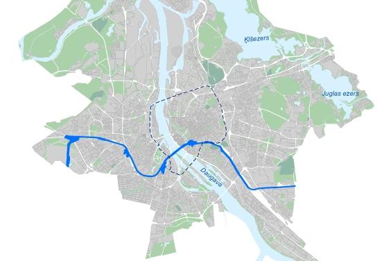 Paziņojums par lokālplānojuma izstrādes uzsākšanu publiskās lietošanas dzelzceļa līnijas Rail Baltica trases teritorijai