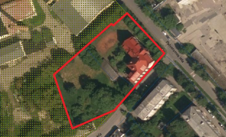 Paziņojums par lokālplānojuma izstrādes uzsākšanu zemes gabaliem Patversmes ielā 20