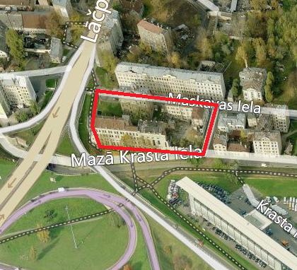Paziņojums par kvartāla starp Maskavas ielu, Bārddziņu ielu, Mazo Krasta ielu un Lāčplēša ielu lokālplānojuma redakcijas publiskās apspriešanas laikā saņemto priekšlikumu un institūciju atzinumu izskatīšanas sanāksmi