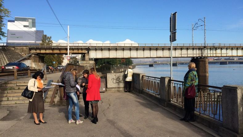 Uzsākta Mūkusalas ielas krasta promenādes metu konkursa pieteikumu vērtēšana