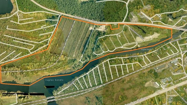 Paziņojums par lokālplānojuma izstrādes uzsākšanu teritorijā  starp Ziemeļu transporta koridora trasi, Jaunciema gatvi un Juglas kanālu
