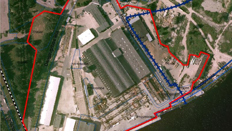 Paziņojums par teritorijas Daugavgrīvas ielā 93 lokālplānojuma apstiprināšanu