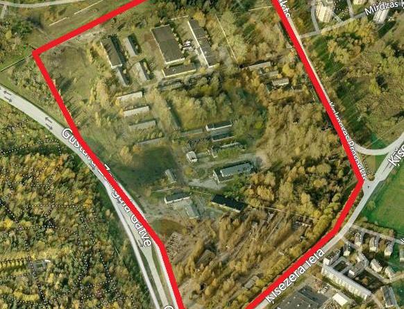 Paziņojums par lokālplānojuma redakcijas grozījumiem teritorijai starp Gustava Zemgala gatvi, Ķīšezera ielu, Kokneses prospektu un vēsturisko Mežaparka apkaimes apbūvi nodošanu publiskajai apspriešanai
