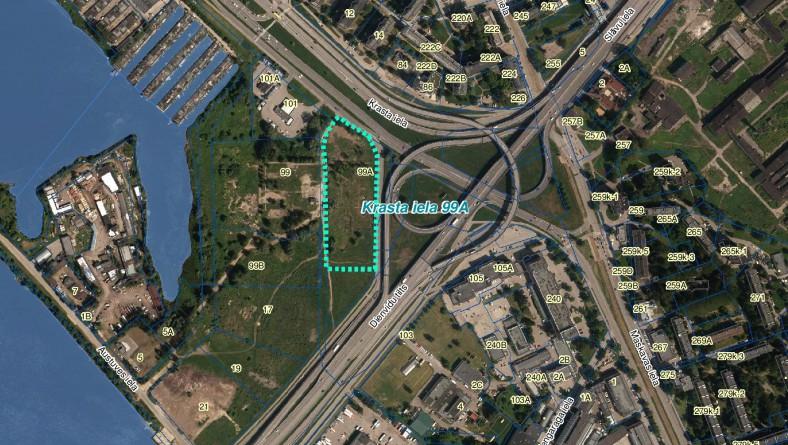 Paziņojums par ietekmes uz vidi novērtējumu paredzētajai darbībai – biroju ēku kompleksa ar autostāvvietām 779 automašīnām būvniecība Rīgā, Krasta iela 99A