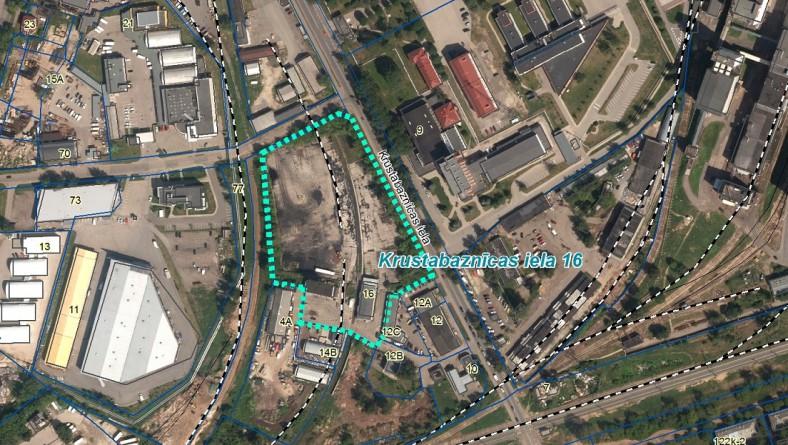 Paziņojums par ietekmes uz vidi novērtējumu paredzētajai darbībai – būvgružu pārbēršanas un šķirošanas laukuma izveide Krustabaznīcas ielā 16