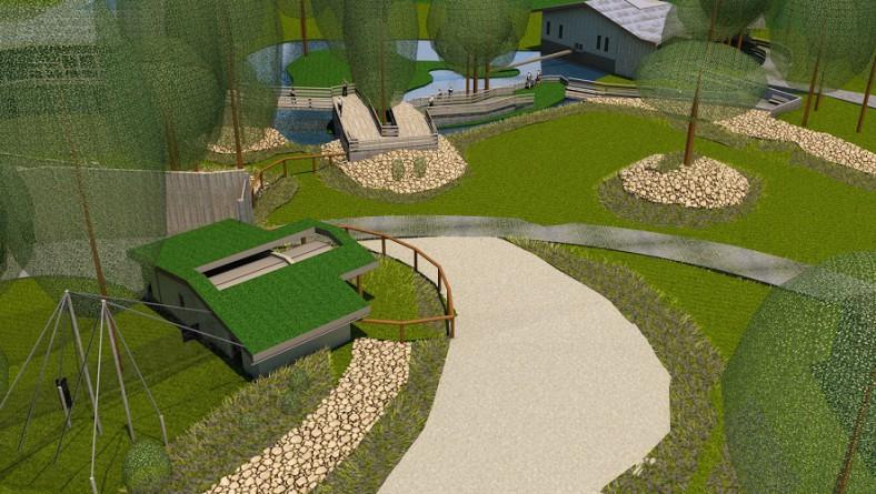 Informēs par ekspozīcijas Āfrikas savanna Rīgas Nacionālajā zooloģiskajā dārzā būvniecības ieceri un nākotnes vīziju