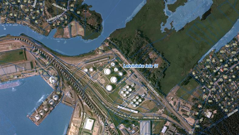 """Paziņojums par sākotnējās ietekmes uz vidi novērtējuma procedūras uzsākšanu uzņēmuma SIA """"Naftimpeks"""" paredzētajai darbībai Rīgā, Laivinieku ielā 11"""