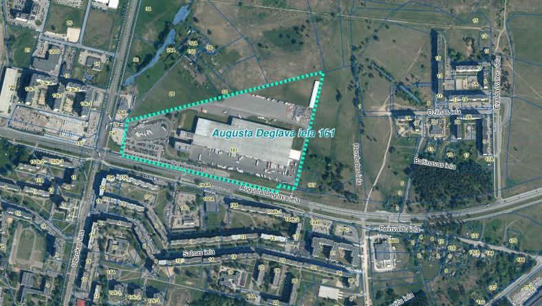 """Paziņojums par ietekmes uz vidi novērtējuma procedūras piemērošanu SIA """"Deglava Real Estate"""" ierosinātajai darbībai Rīgā, A.Deglava ielā 161"""