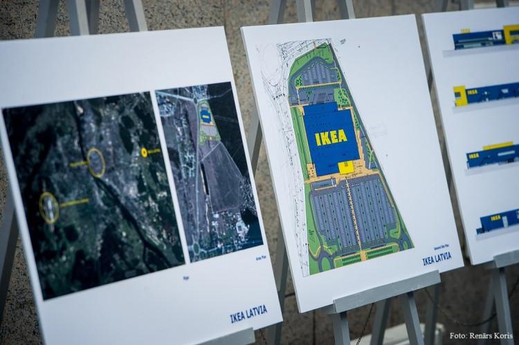 Rīgas pašvaldība paraksta sadarbības līgumu ar IKEA satiksmes infrastruktūras uzlabošanai